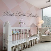Hush Little Baby ~ Wall sticker / decals